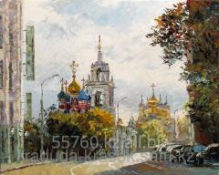 Картина по номерам Церковь Георгия Победоносца в