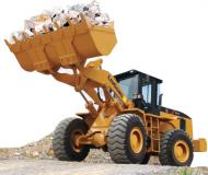 He CLG856-I model, wheel bucket loaders for pits