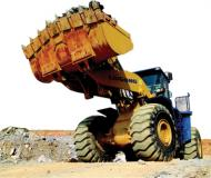 He CLG888 model, wheel bucket loaders for pits