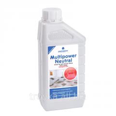 Средство для мытья полов всех типов с антистатическим эффектом Multipower Neutral