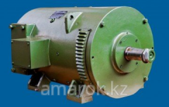 Excavator electric motors