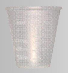 Мензурка пластмассовая гибкая 40 мл