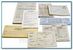 Книги учета товарных чеков
