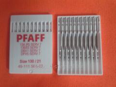 Needles for industrial PFAFF 130 1 cars unitary