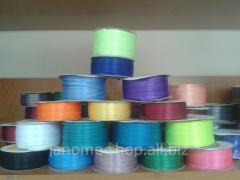 Satin ribbon - 0,3 cm 1 rolls - 92 m 1/8
