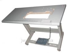 Table for industrial seamer