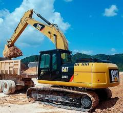 Wheel hydraulic Cat M320D2 excavator