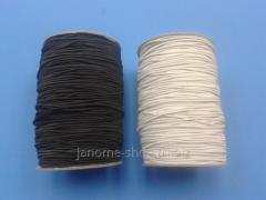 Elastic band - cord hat round 1,5mm 1 rolls - 90 m