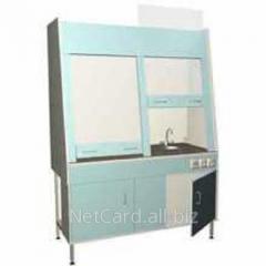 Шкаф вытяжной двухрамный НВ-1500 ШВд-Б, 1410*700*1960