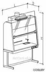 Шкаф вытяжной двухрамный НВ-1800 ШВд-Б, 1800*700*1960