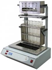 Автоматическая установка для разложения по Кьельдалю LK-100, определение азота, определение белка