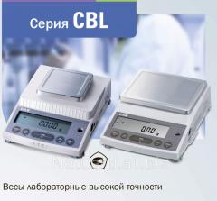 Лабораторные весы высокой точности, серия CBL