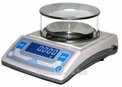 Весы ВМ 213, до 210г,1мг,внешн.кал.,d=116мм,2кл