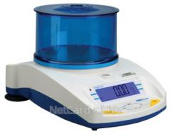 Весы лабораторные ADAM HCB 302, 300 г/0,01 г, внутр. калибровка