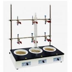 Колбонагеватель ES-4100-3, 3 кол.х500 мл, до 450°C