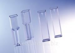 Кюветы оптические стеклянные для спектрофотометров, колориметров