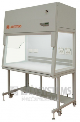 The laminar-flow cabinet with vertical flow of