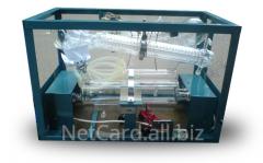 Полки стеклянные настольные ПС-1, 975 мм