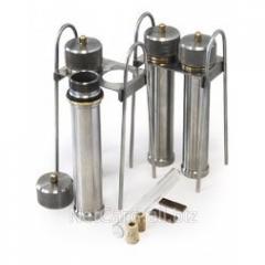 Комплект для испытаний коррозионной активности на медной пластинке ЛАБ-КМП-02
