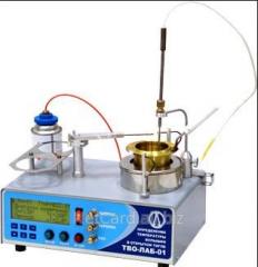 Аппарат для определения температуры вспышки в