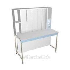 Стол для титрования НВ-1400 ТЛ, 1400*1650*700