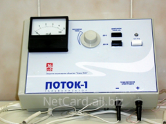The device for an electrophoresis the Flow-1, a