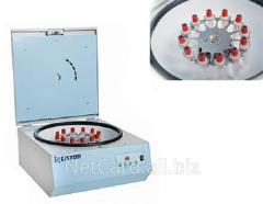 Центрифуга Liston C2204 c ротором CRA1215, 1- 1,5- 2,0- 3,0тыс об/мин, 12х15мл