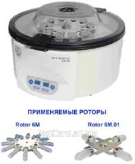 Центрифуга настольная СМ-6М с ротором 6М, 12 пробирок х12мл