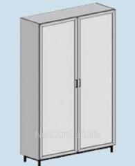 Шкаф для химреактивов ТШ-301В, 1200*500*2000 с вытяжным патрубком, 2 дверцы