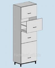 Шкаф для хранения ТШ-402, 600*500*2000, 4
