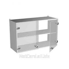 Шкаф навесной со стекл.дверцами НВ-800 НШс,