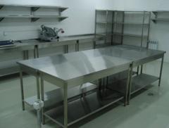 Разделочные столы, шкафы, витрины для баров,
