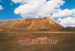 Fire-resistant ground minerals