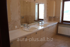 Furniture for a bathroom of Aura plus V-9
