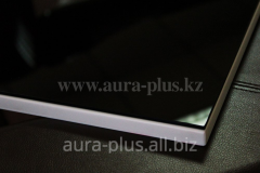 MDF Aura plus Facade - a surface glass colored