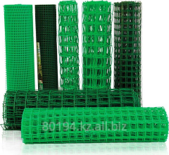 Grid plastic for a protection, the intaking