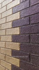 The brick is facing flexible