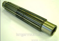 Intermediate shaft for agricultural machinery