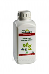 Liquid stain remover on oxygen basis of NATUREX