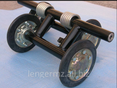 Cart shaft tg 60 with nuts