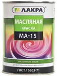 Paint oil MA-15 range of 25 kg.