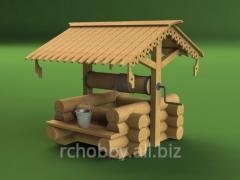 Набор для постройки модели Колодец