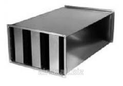 Noise suppressor lamellar 400х400