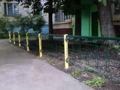 Тротуарные и газонные ограждения