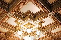 Деревянные кессонные потолки в Алматы