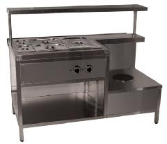 Food warmer of the first and MEP-U-15/7N second