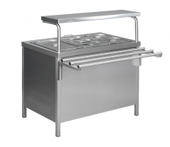 Food warmer of MEV-10/7N second courses