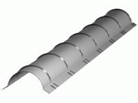 Конёк бочкообразный (полукруглый, диаметр 250мм.)