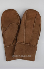 Mittens leather