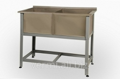 2-section washing tank with board of VM of